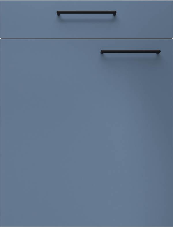 artego Küchen · Front Turin · 14016 Rookblauw
