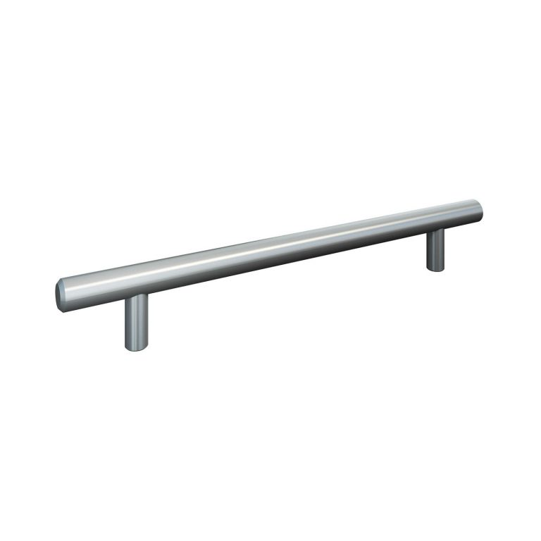 artego Küchen · Griff 163 Edelstahloptik