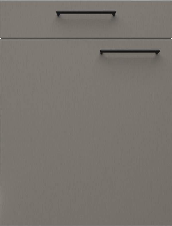 artego Küchen · Front Steel · 21095 Titanium