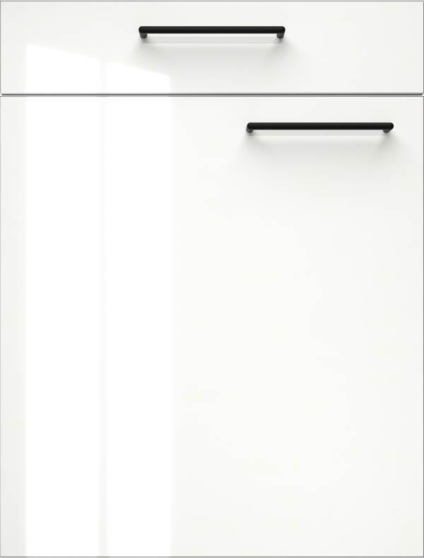 artego Küchen · Front Shine Glas · 44123 Alpine Wit