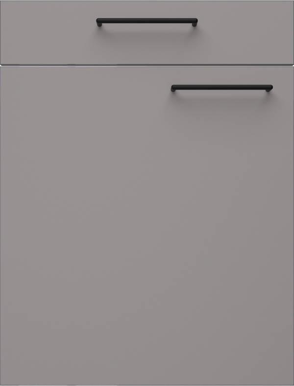 artego Küchen · Front Pure Glas · 48112 Arctisch Grijs