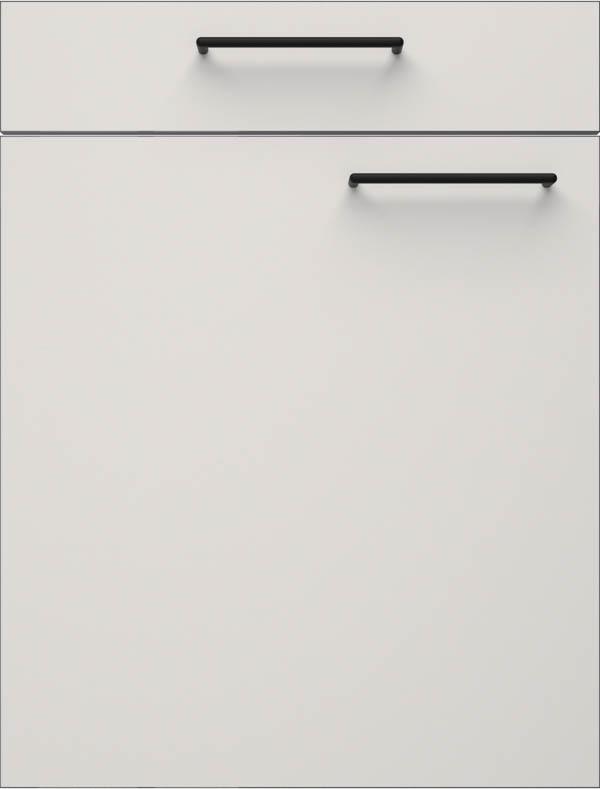 artego Küchen · Front Pure Glas · 48115 Zijdegrijs