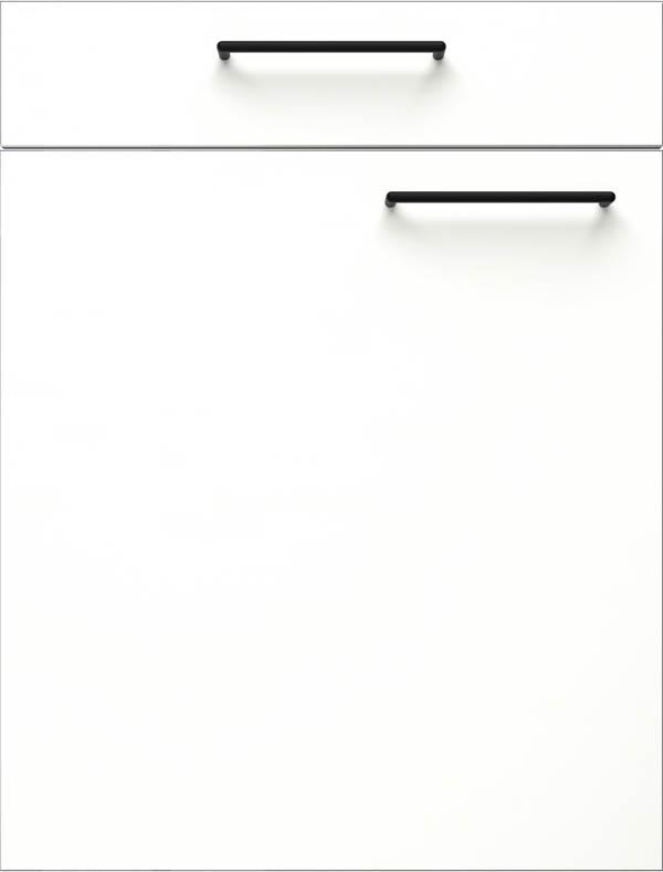 artego Küchen · Front Pure Glas · 48123 Alpine Wit