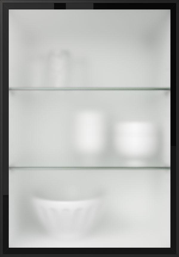 artego Küchen · Glasrahmentür Mattglas
