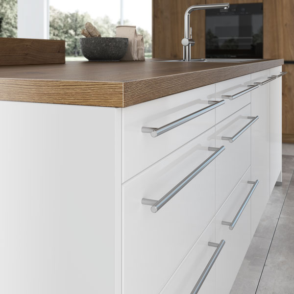 artego Küchen · Griffsystem