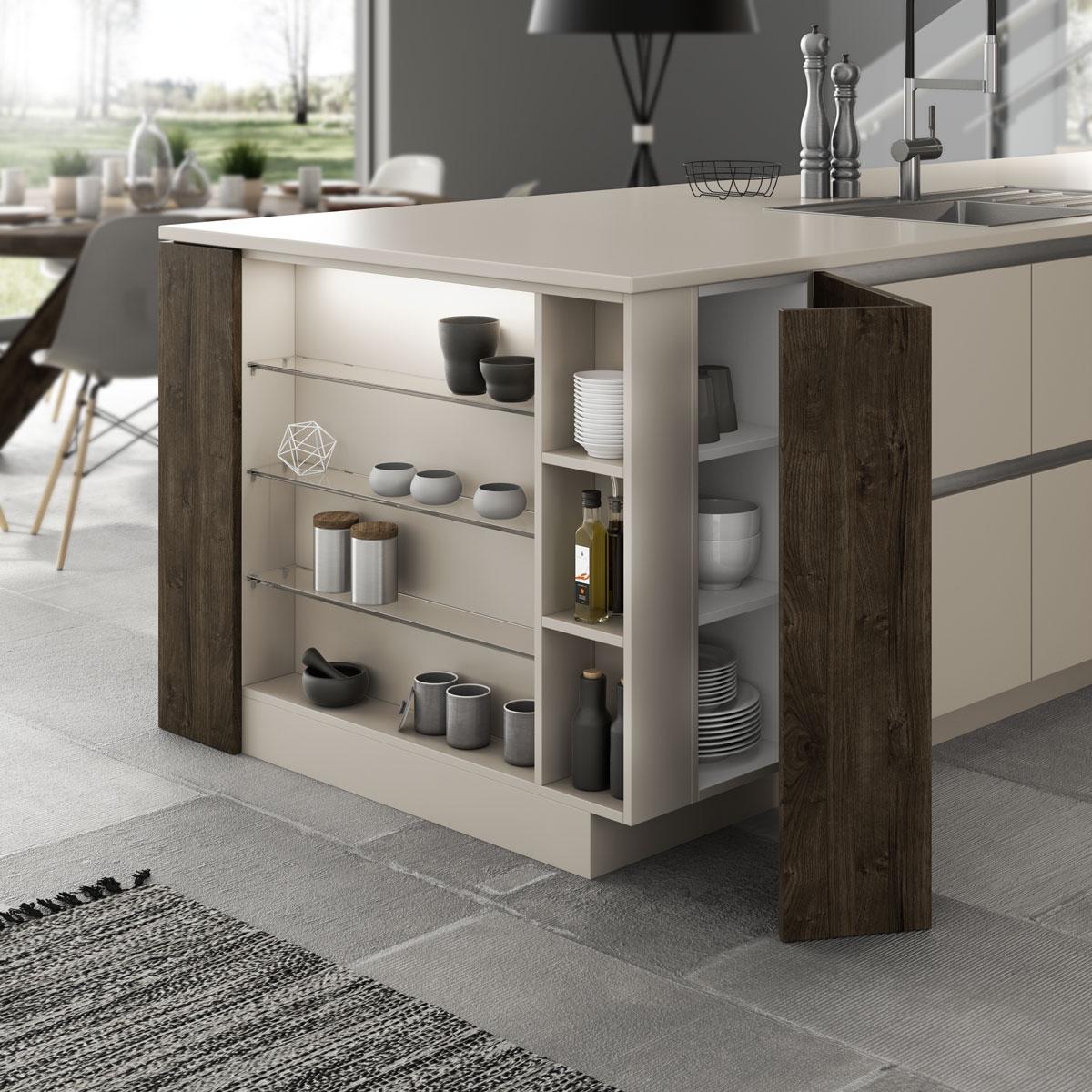 artego Küchen · Versteckter Platz